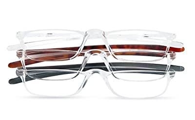 Optx 20/20 Techoptx Reading Glasses, 3 Count, (+1.75)