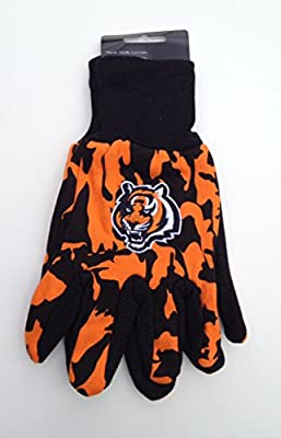Cincinnati Bengals Team Color Camo Sport Utility Gloves