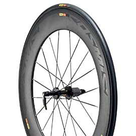 Mavic Cosmic Carbone 80 Tubular Road Bike Rear Wheel