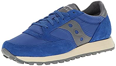 Saucony Originals Men's Jazz Original Fashion Sneaker,Blue/Grey,7 M US