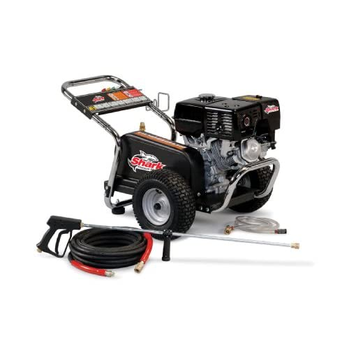 Shark BG-252737 2,700 PSI 2.5 GPM Honda Gas Powered Industrial Series Pressure Washer