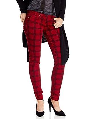 Pepe Jeans London Pantalón Moss (Rojo)