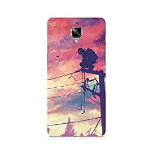 Mobicture Pattern Premium Designer Mobile Back Case Cover For OnePlus Three
