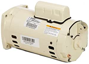 Pentair 355003s almond 1 hp single phase dual for Square flange pool pump motor