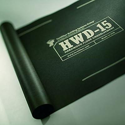 ASU-15 Hardwood Flooring Underlayment Felt Paper