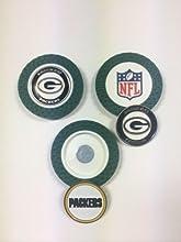 NFL Poker Chip Golf Ball Marker 3 pack