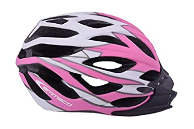 AMMACO SINGLE MOULD PINK ADULTS WOMENS BIKE PROTECTIVE CRASH HELMET 54-58cm from AMMACO