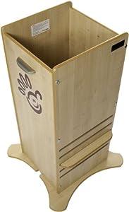 Little Helper FunPod - Elevador infantil para cocina, color madera clara