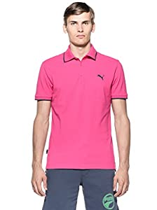 Puma Polo Homme Rose (Beetroot Purple/Ombre Blue) FR : 44/46 (Taille Fabricant : S)