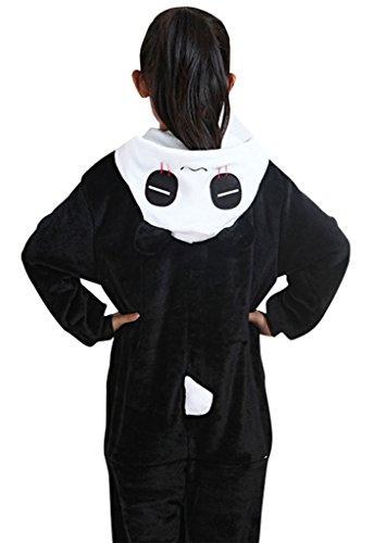 GILLBRO pigiama Costume Cosplay Homewear Lounge Wear Kigurumi Onesies pigiama, Panda Y 95 cm
