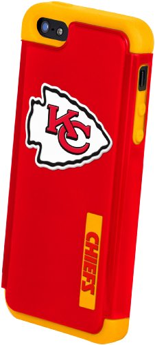 Forever Collectibles Kansas City Chiefs Rugged Dual Hybrid Apple iPhone 5 & 5S Case at Amazon.com