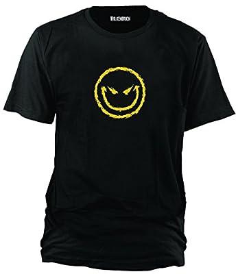 Wolkenbruch® T-Shirt Bad Smiley, vers. Farben Gr. S bis 5XL