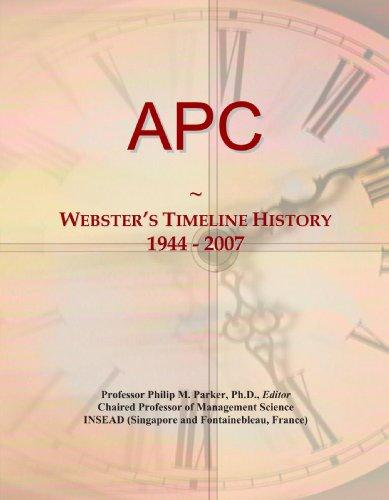 apc-websters-timeline-history-1944-2007