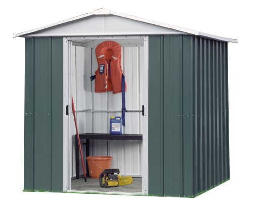 Trigano Deluxe Metal Apex Shed 6 x 6