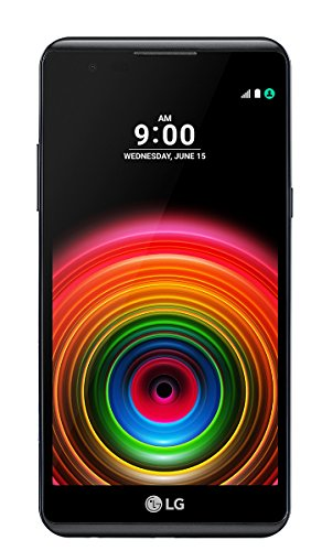 "LG X Power Smartphone, Display IPS 5.3"" HD, 4G LTE, Fotocamera 13MP con frontale 5MP, Memoria interna 16 GB, 2 GB RAM, Titanio [Italia]"