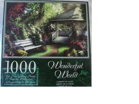 Wonderful World 1000 Piece Puzzle - Garden of Light