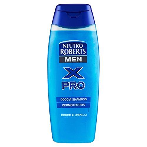 Neutro Roberts - X Pro , Doccia Shampoo, Uomo -  250 Ml
