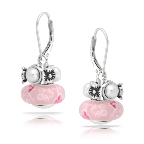 If you love the Pandora beads style want to match your Pandora compatible bead bracelets and Pandora compatible bead necklaces, these Pandora compatible drop earrings are the perfect pieces of jewelry
