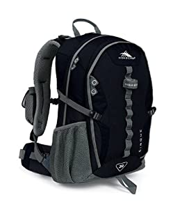 High Sierra Classic Series 59102 Cirque 30 Internal Frame Pack Black 21.5x12.75x9 Inches 1830 Cubic Inches 30 Liters