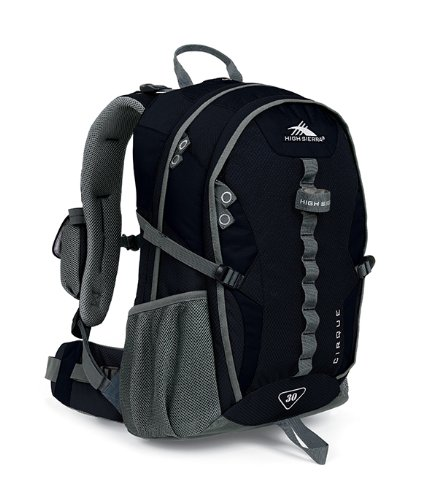 High Sierra Classic Series 59102 Cirque 30 Internal Frame Pack Black 21.5X12.75X9 Inches 1830 Cubic Inches 30 Liters front-831858
