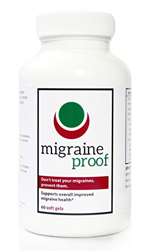 Migraine proof with vitamin b2 and fish oil 60 gel caps for Fish oil headache