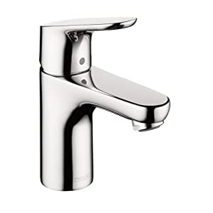hansgrohe 4371000 focus e 100 single hole faucet chrome