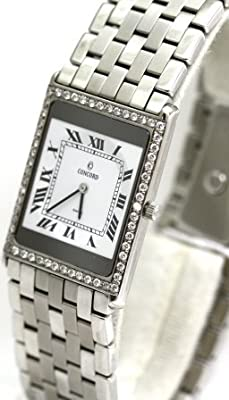 Concord Delirium Diamond Bezel case is 2.8mm this is the thinnest watch Men's Watch