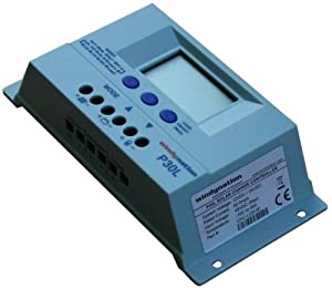 LCD PWM Solar Panel Regulator Charge Controller with Digital Display and User Adjustable Settings by Windy Nation