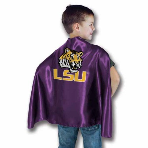 NCAA LSU Tigers Purple Hero Cape