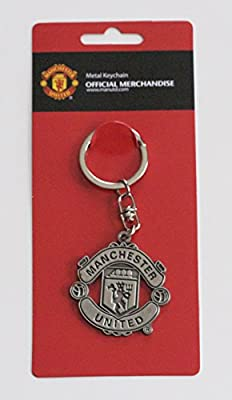 Official Manchester United FC Keyring Key Chain
