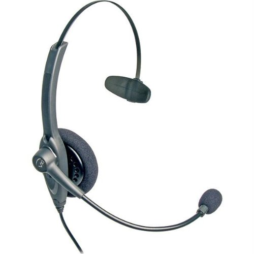 Office Headsets-Vxi Passport 10 Professional Monaural Single-Wire Headset For Headset-Ready Phones And V-Series Qu