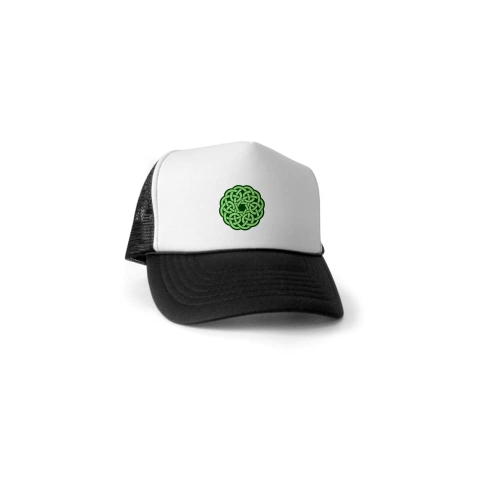 Artsmith, Inc. Trucker Hat (Baseball Cap) Celtic Knot Wreath