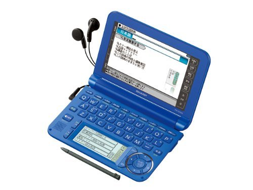 Sharp Japanese Color Electronic Dictionary Brain Model Pw-G5300-A Blue From Jpn