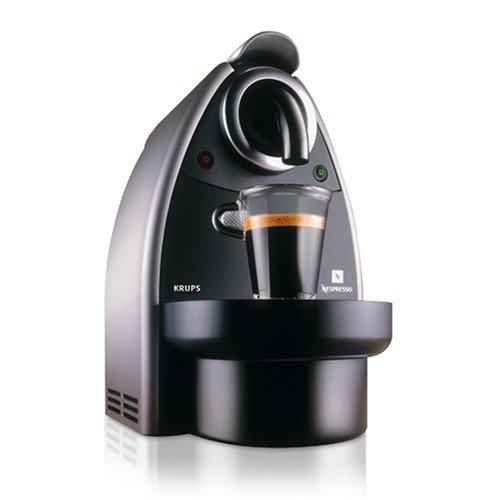Krups Nespresso XN2105 Automatic Coffee Maker, Titanium