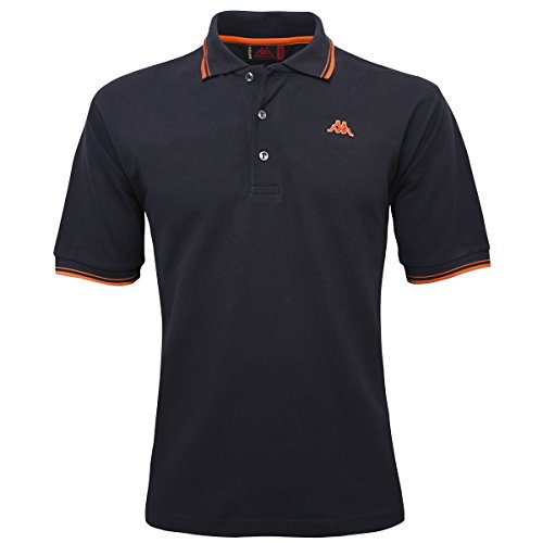 La polo Robe di Kappa - Livingston - Navy-Orange mid - L