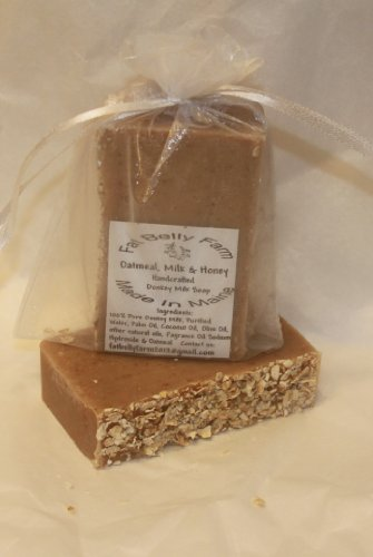 Donkey Milk Soap (Oatmeal Milk Honey) Made In Maine