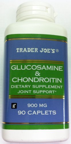 Trader Joe'S Glucosamine & Chondroitin Joint Support 900 Mg, 90 Caplets