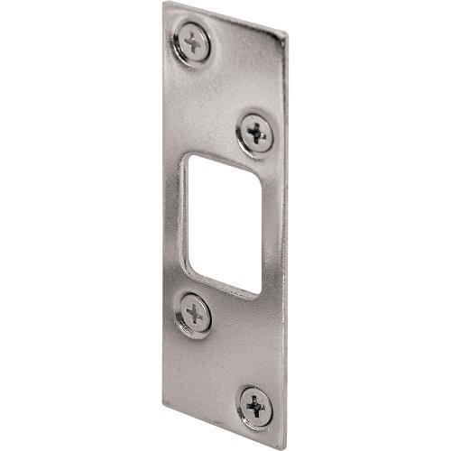Prime-Line Products E 2292 Deadbolt Strike, High Security, Nickel Plated photo