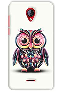 IndiaRangDe Hard Back Cover FOR Micromax A106 Unite 2