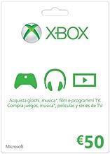 Comprar Microsoft - Xbox Live Tarjeta Regalo 50 Euro (Xbox)