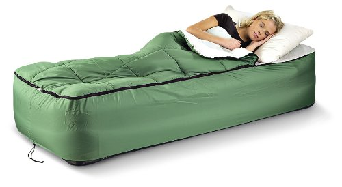 Guide Gear Twin Airbed Fitted Cover Sleeping Bag Green