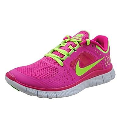 Nike Lady Free Run V3 Running Shoes - 5.5 - Pink