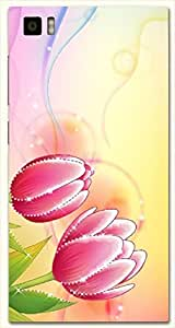 Noticeable multicolor printed protective REBEL mobile back cover for Xiaomi Mi 3 D.No.N-L-16647-XM3