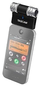 TASCAM ステレオコンデンサーマイク iPhone/iPad/iPod touch用 ブラック iM2-B