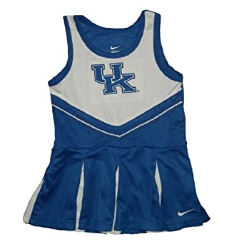 NCAA Kentucky Wildcats Toddler Girls Tank Dress with Embroidered Logo by NCAA