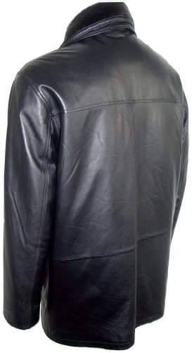 Johnnyblue FREE tailoring Men 2001 Open Bottom Genuine Lamb Half Leather Coat