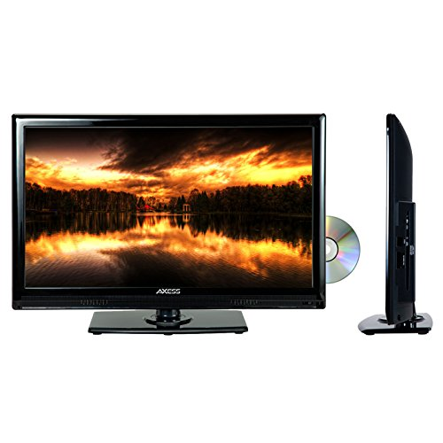 """Axess 22"""" Led Ac/Dc Tv With Dvd Player Full Hd With Hdmi Sd Card Reader And Usb"""
