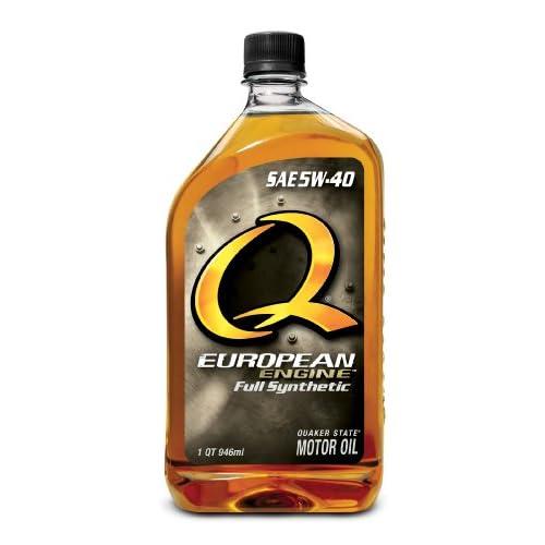 Quaker State Q European Full Synthetic 5W40 Motor Oil - 1 Quart Bottle