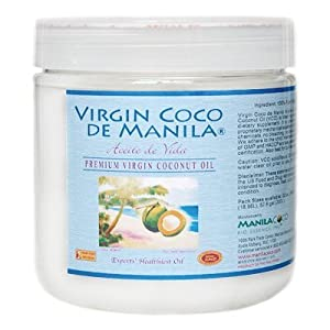 Organic 100% Virgin Coconut Oil Dietary Supplement