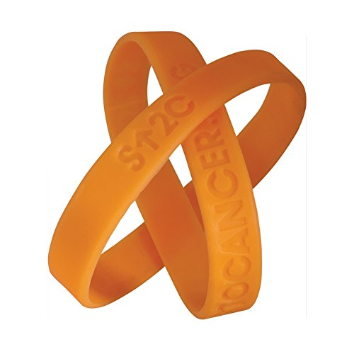Stand Up To Cancer - Su2C Official Wristband Multi-Packs - 50 Count - Orange